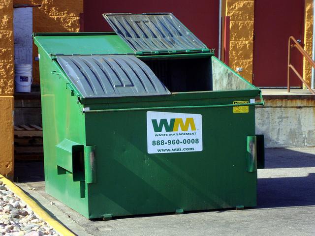 Waste Management Roll Off Dumpster Rental