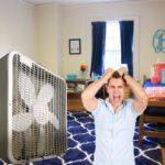 Student Awakens Yet Again to Re-Adjust Oscillating Fan