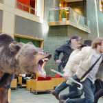 School Spirit! These Cornellians Released a Bear into a Crowd of People
