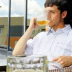 Sheer Bravery! This Fraternity Brother Will Finish Anyone's Drink That They Don't Want Anymore