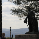 Shutdown Coverage: College landmarks Ezra Cornell And A.D. White Statues Closed